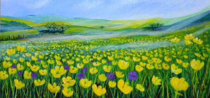 Se Maleriet Blomstereng i galleriet på MyArtSpace.dk