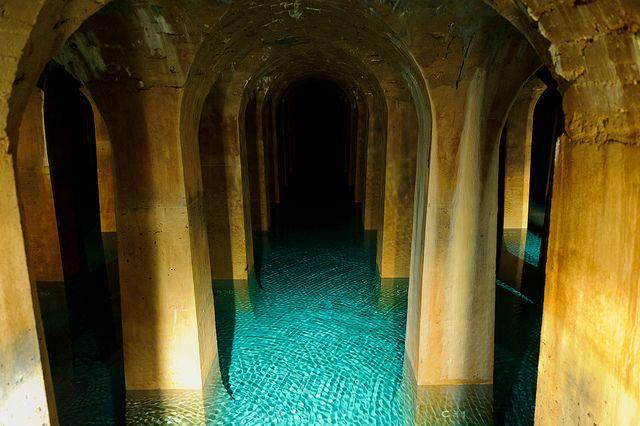 Réservoir supérieur d'eau potable de Montsouris (Paris 14eme). | Flickr: partage de photos!