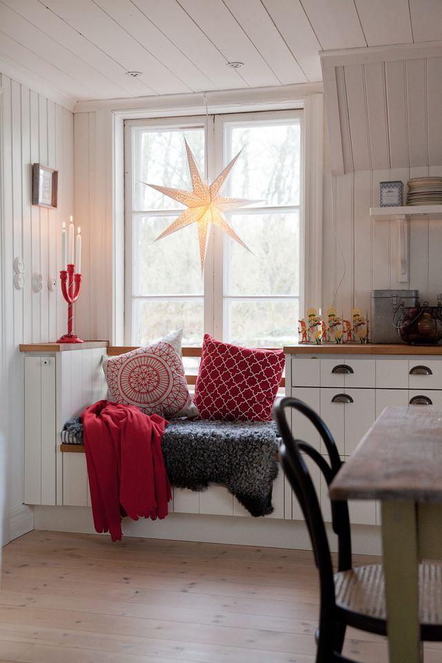 ALLT I HEMMET: Julreportage från Anns och Anders fina julhem. Foto Camilla Isaksson.