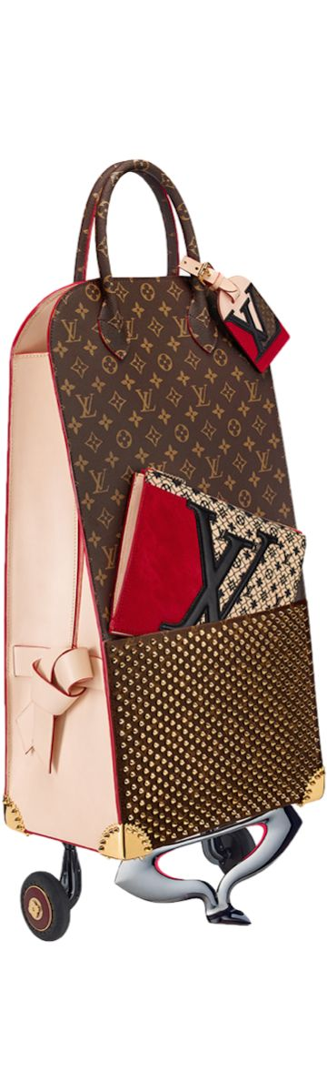 LOOKandLOVEwithLOLO~ Louis Vuitton Icon and Iconoclasts Collection. Shopping Trolley Christian Louboutin