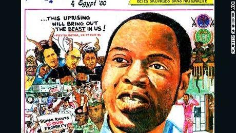 Lemi Ghariokwu is the man behind the cover art of Nigerian afrobeat pioneer Fela…