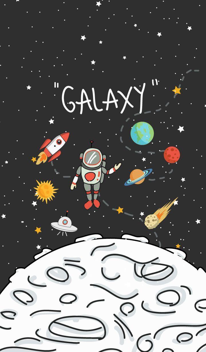 Wallpaper Planet Kartun