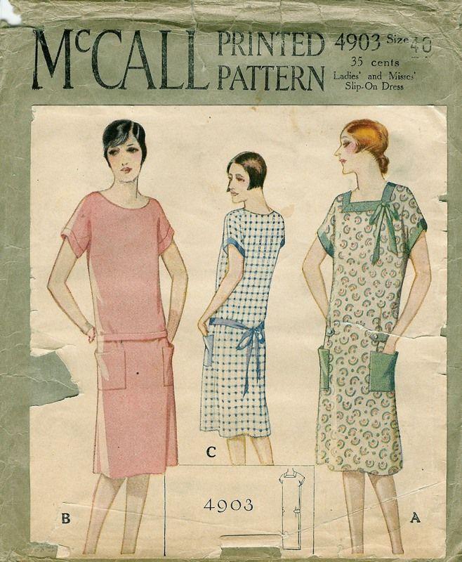 Patterns - Women's Dresses - Daytime 1929