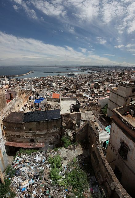 """From the Roofs of the Algiers """"Casbah"""" - Algiers City, Algeria"""