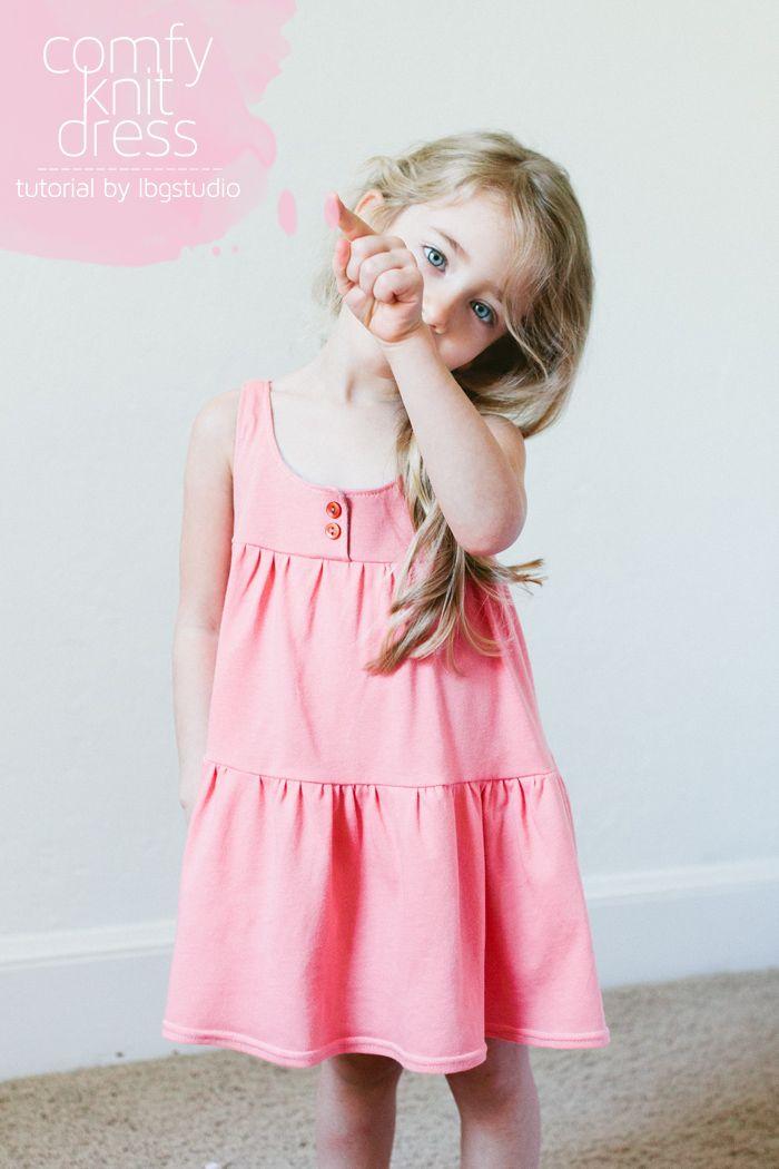 {lbg studio}: comfy knit dress tutorial :: tutorial para este vestido en tela de punto