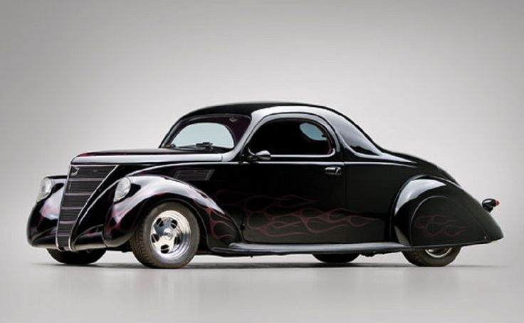 1937 Lincoln Zephyr Custom Black Coupe. | Classic Lincoln ...