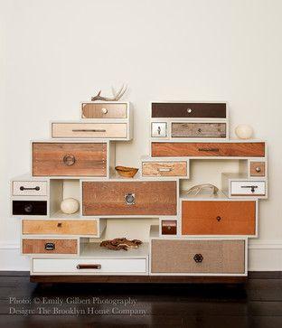 Custom sideboard - eclectic - bedroom - new york - The Brooklyn Home Company