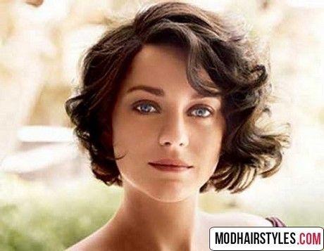 Kurzes welliges Haar für rundes Gesicht, #gesicht # welliges #haar #kurz #run