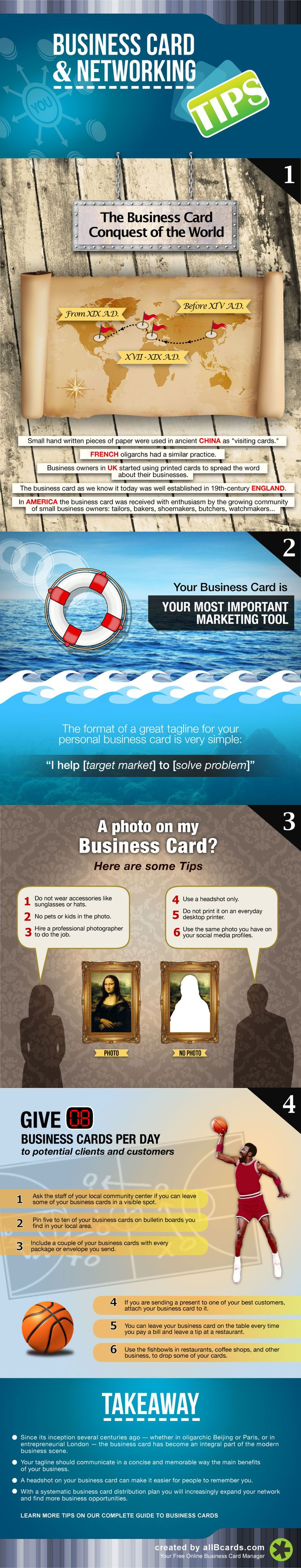 50 best Smart TIPS on Business Cards and Networking. images on ...