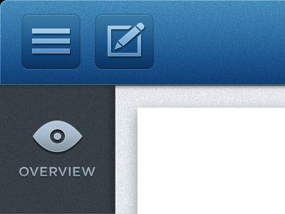 blue toolbar texture iOS App