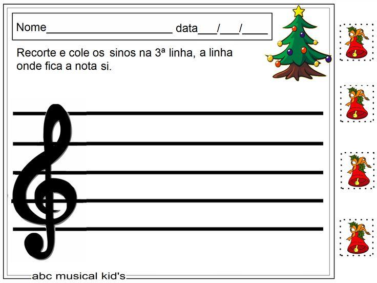 ATIVIDADES DE EDUCAÇÃO INFANTIL  E MUSICALIZAÇÃO INFANTIL: musicalização infantil