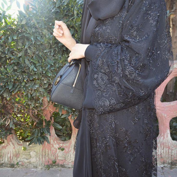 Lace abaya.  #EAspecial