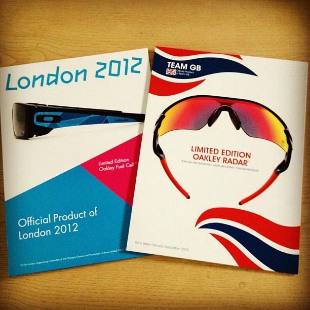 #London2012 Oakley Glasses #Olympic