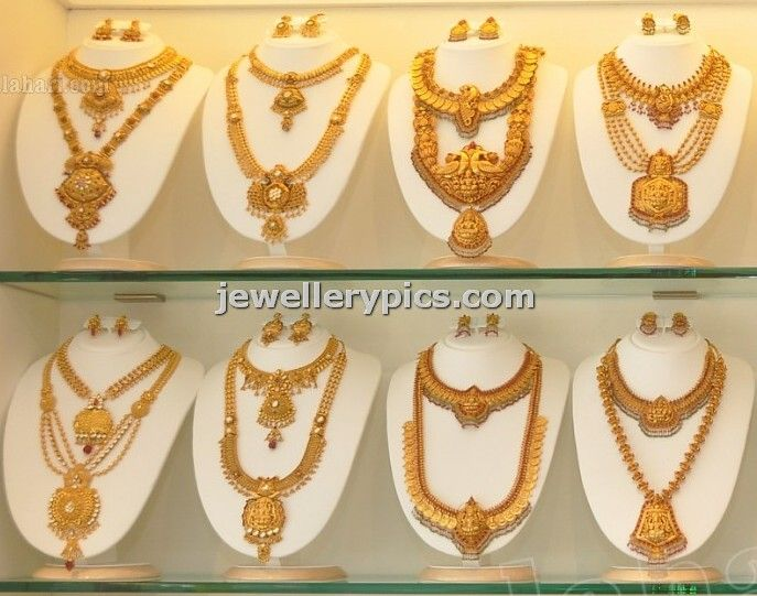 gold haram designs - Latest Jewellery Designs