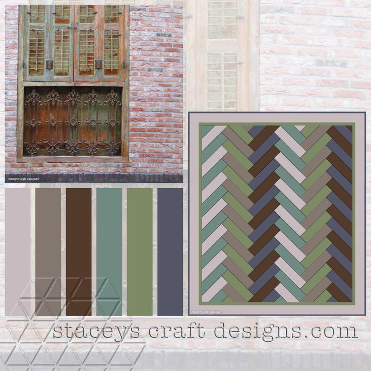 Colour Palette Texel Window by Stacey's Craft Designs