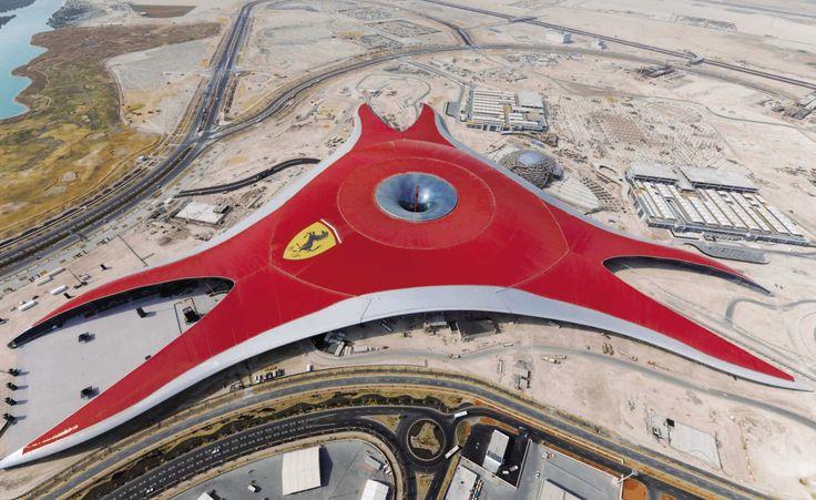 Ferrari World Abu Dhabi   Reynaers