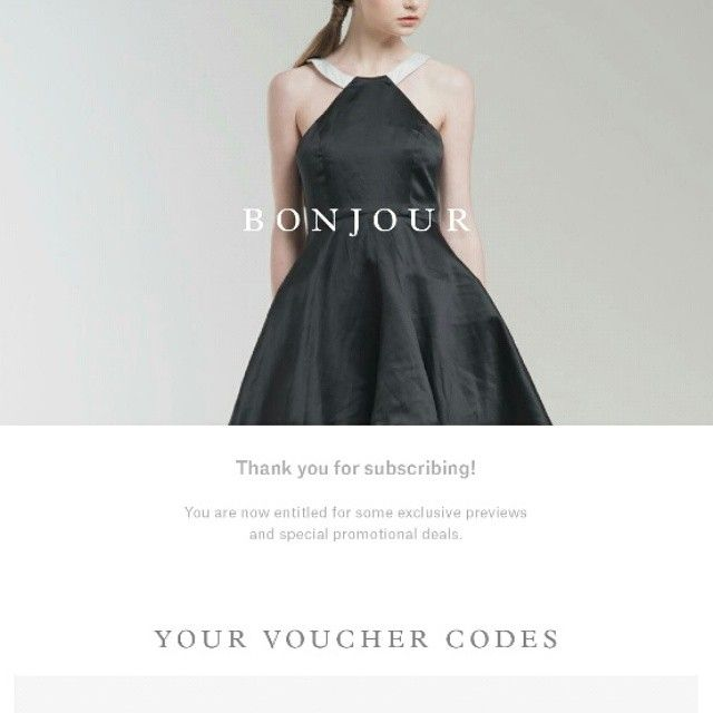 Something you may want to see on your mailbox, ladies!  Don't forget to subcribe through www.jolie-clothing.com and have your clothes ready for immediate shipment :)