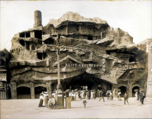 Cliff Dwellers on the Pike at the 1904 World's Fair.