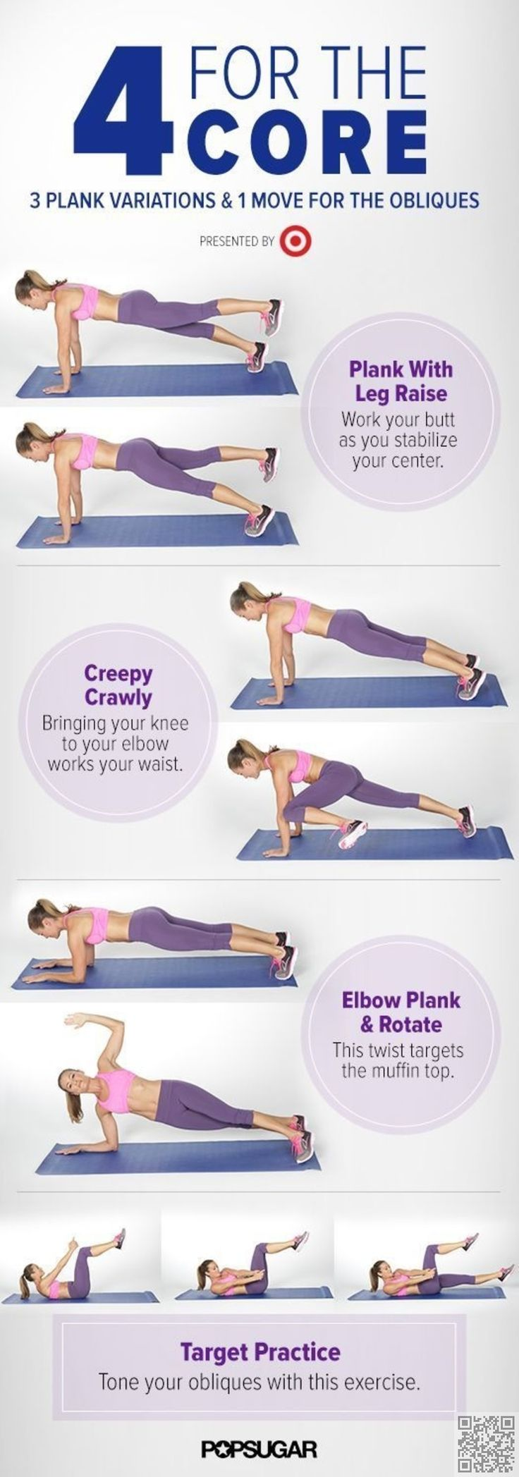 15. #5-Minute Muffin-Top #Workout - Flabby to Fit in 5, with #These Magical…