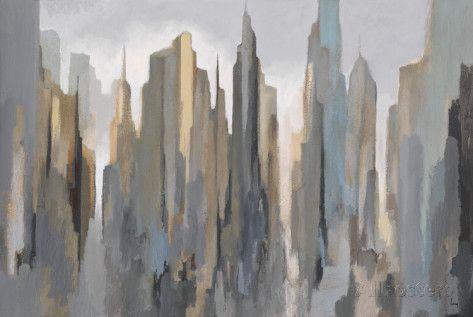 Midtown Skyline Art Print