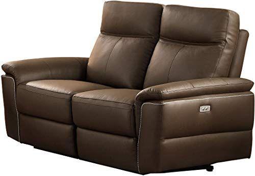 Best Seller Homelegance Olympia Modern Design Power Reclining Loveseat Top Grain Genuine Leather Match Raisin Online In 2020 Power Reclining Loveseat Leather Loveseat Arm Chairs Living Room