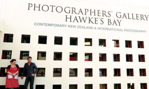 Hawkes Bay Tourism :: Photographers Gallery Hawke's Bay and Kitchen Table Cafe, Napier, Hawke's Bay