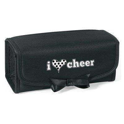 """""""i heart cheer"""" Cosmetic/Accessory Case Cheerleading Company. $14.99"""
