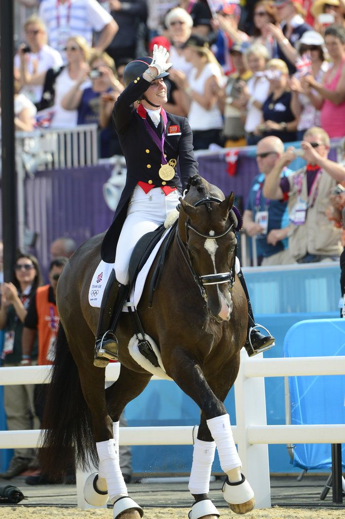 Individual Dressage Gold  Charlotte Dujardin on Valegro...Great