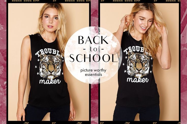 BACK TO SCHOOL FALL STYLES