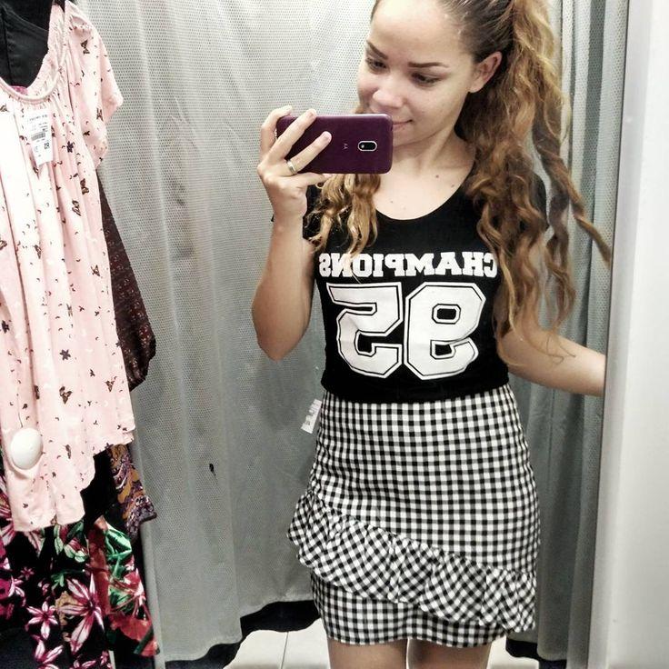 """318 curtidas, 8 comentários - Moda ❤ Beleza ❤ Lifestyle (@gipinheiroblog) no Instagram: """"VÍDEO NOVO NO CANAAAAL 😍😍 Esse e vários outros looks que eu montei lá na @cea_brasil com as maiores…"""""""