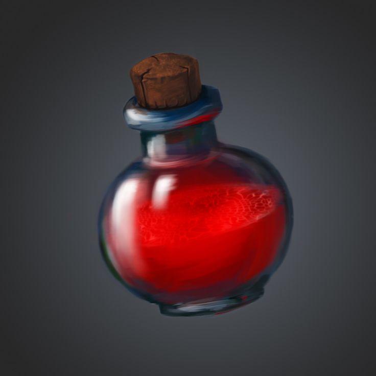 Potion, Илья Сахаров on ArtStation at https://www.artstation.com/artwork/RNGrD