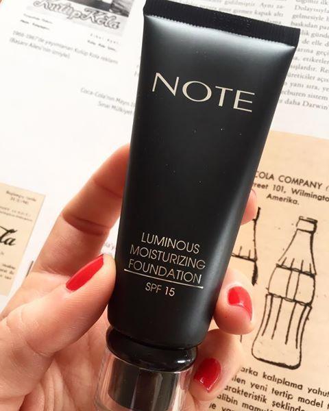 Note Luminous Mousturizing Fondöten Spf15 Beige Çeşitleri Lisila.com'da12₺  http://www.lisila.com/Fondoten,LA_724-2.html#labels=724-2,322-3   #makeup #instamakeup #cosmetic #cosmetics #fashion #eyeshadow #lipstick #gloss #mascara #palettes #eyeliner #lip #lips #tar #concealer #foundation #powder #eyes #eyebrows #lashes #lash #glue #glitter #crease #primers #base #beauty #beautiful  www.lisila.com