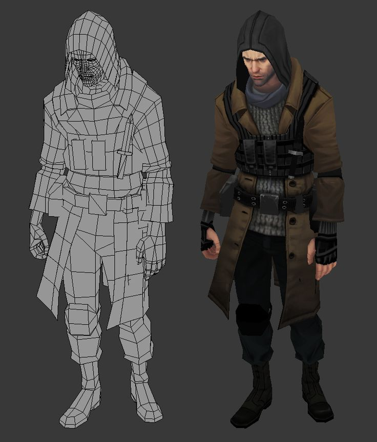 Character Design Unity : Best game art topology images on pinterest