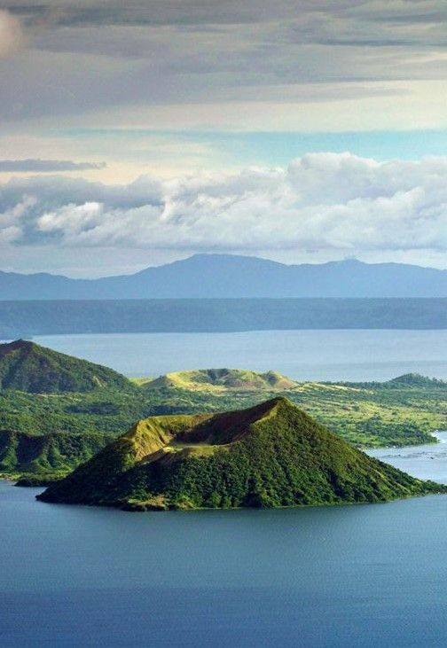Smallest Volcano in the World, Taal Volcano in Tagaytay, Philippines