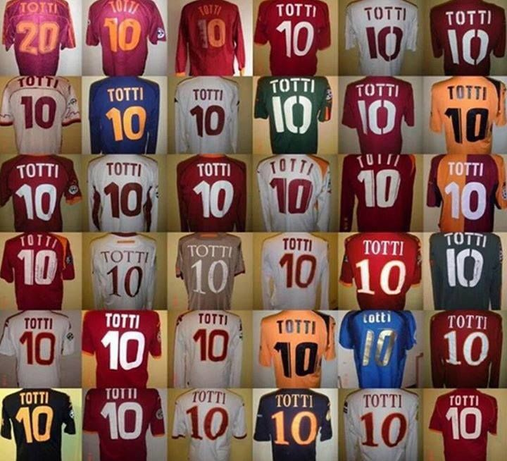 Francesco Totti's career in one picture.