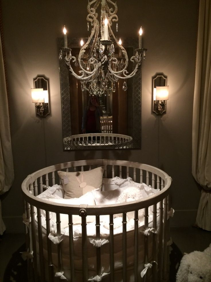Round Crib from Baby & Child Restoration Hardware - Refunk My Junk