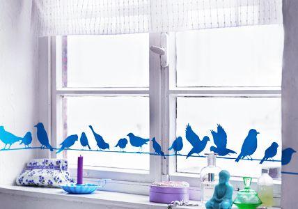 Das gibts doch bestimmt ein Fenster im Haus..... Gesehen bei Living at home