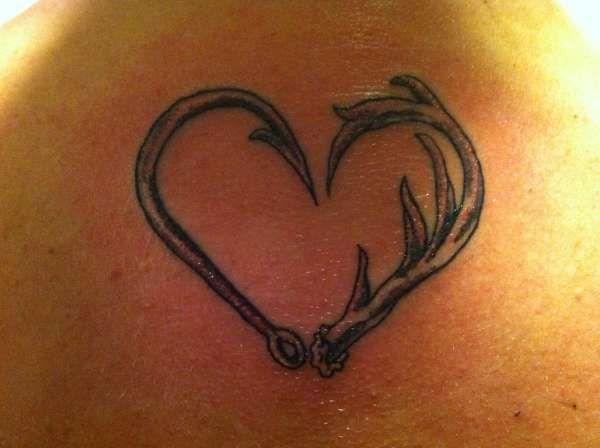deer antler tattoos - photo #2