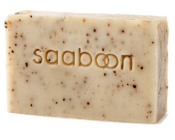 Coffee Break Soap  Vegan Soap Exfoliating Soap Bar by SAABOON