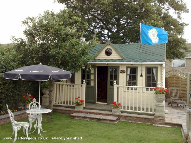 2406 best images about garden sheds on pinterest a shed for Garden shed pub