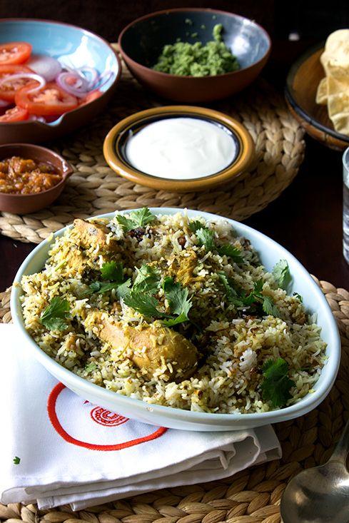 Malabar Chicken Biryani - The Patterned Plate