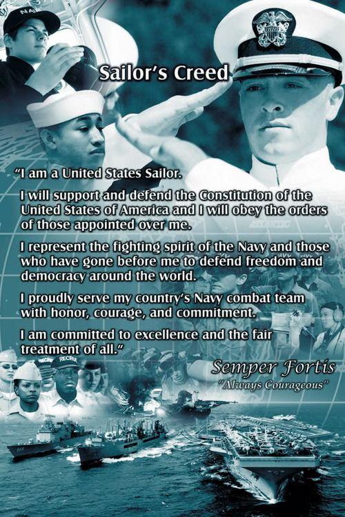sailors creed