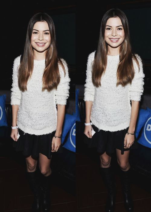 """ Miranda Cosgrove at Katy Perry Prismatic World Tour 