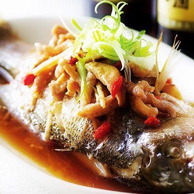 台式蒸魚│台湾式蒸し魚   日本で作れる台湾料理