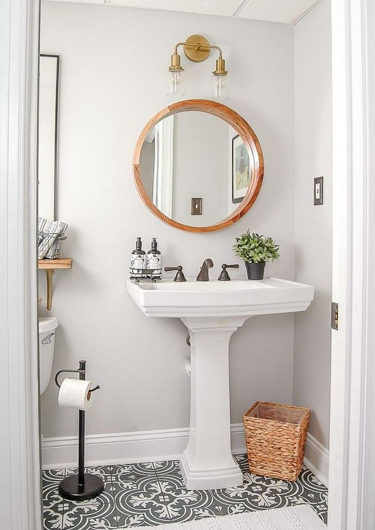 44 Beauty Vintage Powder Room Ideas Bathroom Remodel Cost Affordable Bathroom Remodel Vintage Bathroom Decor