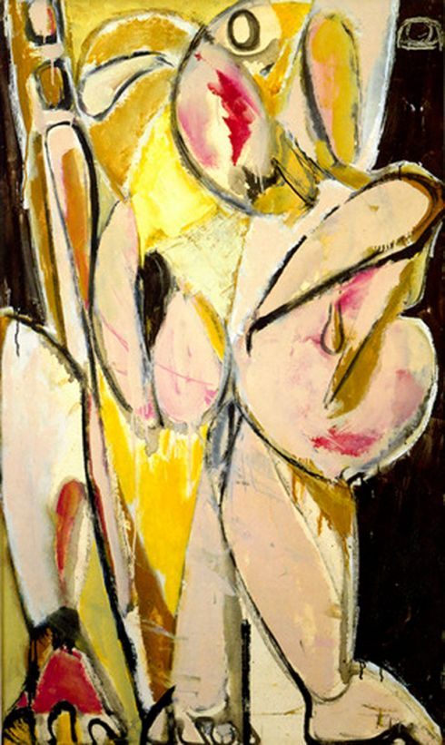 """Prophecy"" by Lee Krasner"