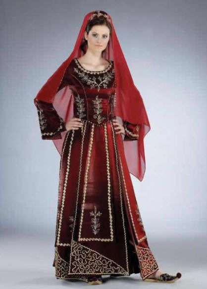 Bindallı..Turkish Wedding - henna night dress