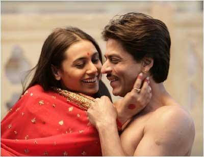 Shah Rukh Khan. SRK. Rani Mukerji. Paheli