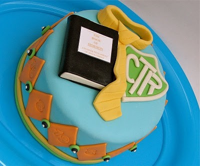 LDS Cake!!! - this would be perfect for 8 is great birthday or primary activity treat. ( kraftenfrenzy3 )