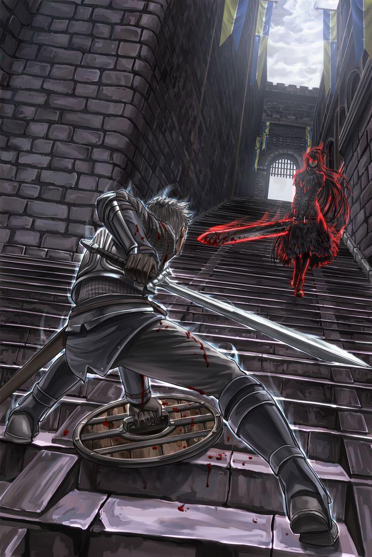 Chosen Undead vs Dark Wraith